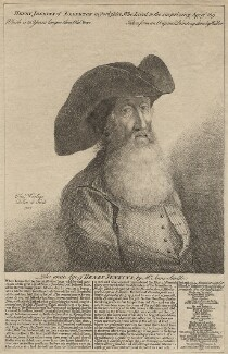 Henry Jenkins, by Thomas Worlidge, after  Walker, 1752 - NPG D3304 - © National Portrait Gallery, London