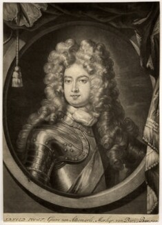 Arnold Joost van Keppel, 1st Earl of Albemarle, after Sir Godfrey Kneller, Bt - NPG D331