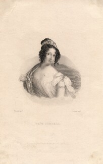 Amelia Caroline (née King), Lady Jodrell, by John Cochran, after  J. Kennedy - NPG D3310