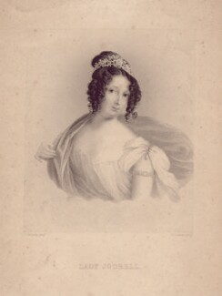 Amelia Caroline (née King), Lady Jodrell, by John Cochran, after  J. Kennedy - NPG D3311