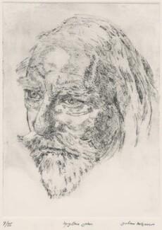 Augustus John, by Julian Melgrave - NPG D3312