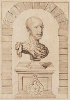 Sir John Hoskins, 2nd Bt, after Robert White - NPG D3339