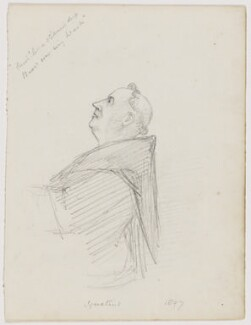 Father Ignatius (Joseph Leycester Lyne), by Unknown artist - NPG D3347