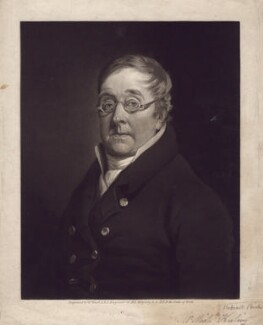 Michael Keeling, by William Ward, after  Unknown artist, published circa 1814-1826 - NPG D3360 - © National Portrait Gallery, London