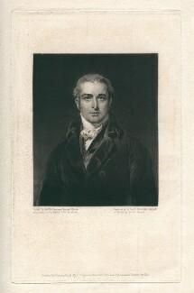 John Philip Kemble, by Charles Turner, after  Sir Thomas Lawrence - NPG D3369
