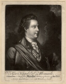 George Keppel, 3rd Earl of Albemarle, after Sir Joshua Reynolds, 1762 - NPG D337 - © National Portrait Gallery, London