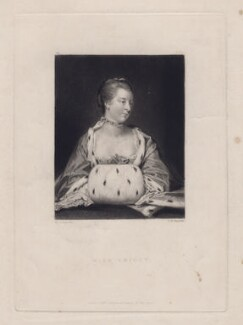 Miss Knight, by Samuel William Reynolds, after  Sir Joshua Reynolds - NPG D3375