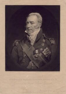 Sir Richard Goodwin Keats, by William Ward, after  John Jackson - NPG D3390
