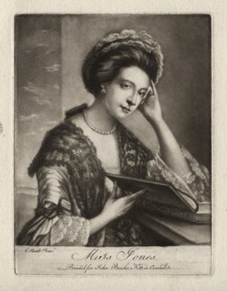 Polly Kennedy (Polly Jones), published by John Bowles, after  Katharine Read - NPG D3399