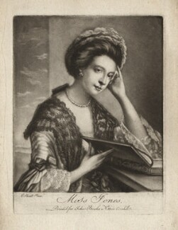 Polly Kennedy (Polly Jones), published by John Bowles, after  Katharine Read - NPG D3400
