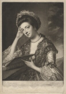 Polly Kennedy (Polly Jones), by James Watson, after  Katharine Read - NPG D3401