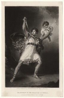 John Philip Kemble as Rolla in 'Pizarro', after Sir Thomas Lawrence - NPG D3402