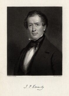 John Pendleton Kennedy, by John Sartain, after  Wilson - NPG D3403