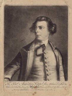 Augustus Keppel, Viscount Keppel, after Sir Joshua Reynolds - NPG D3404
