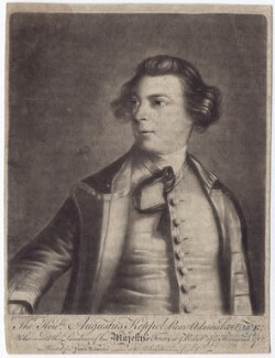Augustus Keppel, Viscount Keppel, after Sir Joshua Reynolds - NPG D3405