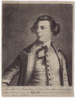 Augustus Keppel, Viscount Keppel, after Sir Joshua Reynolds, (1752-1753) - NPG D3405 - © National Portrait Gallery, London