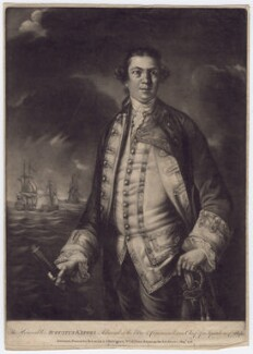 Augustus Keppel, Viscount Keppel, published by Robert Sayer, published by  John Bennett - NPG D3411