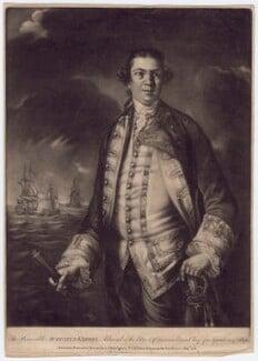Augustus Keppel, Viscount Keppel, published by Robert Sayer, published by  John Bennett, published 1 September 1778 - NPG D3411 - © National Portrait Gallery, London