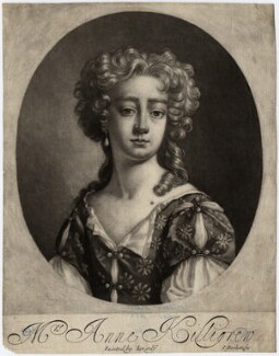 Anne Killigrew, by Isaac Beckett, after  Anne Killigrew - NPG D3420