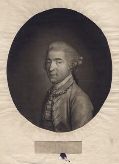 Thomas King, by John Raphael Smith, after  Hugh Douglas Hamilton - NPG D3424