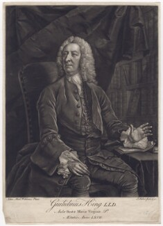 William King, by John Faber Jr, after  John Michael Williams - NPG D3426