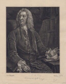 William King, by John Faber Jr, after  John Michael Williams - NPG D3427