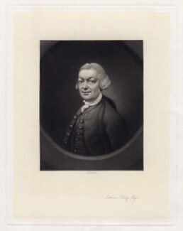 John (John) Joshua Kirby, by James Scott, after  Thomas Gainsborough - NPG D3436