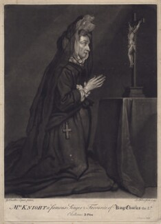 Mary Knight, by John Faber Jr, after  Sir Godfrey Kneller, Bt - NPG D3442