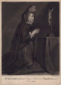 Mary Knight, by John Faber Jr, after  Sir Godfrey Kneller, Bt, 1749 - NPG D3442 - © National Portrait Gallery, London