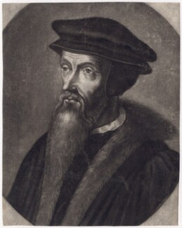 Unknown man, formerly known as John Knox, after Unknown artist - NPG D3443