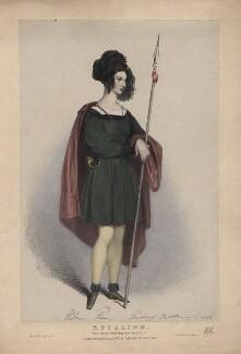 Eleanora ('Ellen') Kean (née Tree) as Rosalind in 'As You Like It', by Richard James Lane, published 1838 (1836) - NPG  - © National Portrait Gallery, London