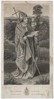John Kemp, by John Swaine, after  Albin Martin - NPG D3471
