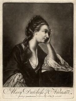 Mary (née Panton), Duchess of Ancaster, after Sir Joshua Reynolds - NPG D348