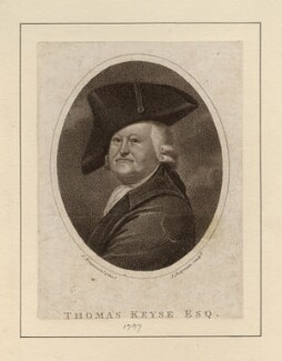 Thomas Keyse, by John Chapman, after  Samuel Drummond - NPG D3488