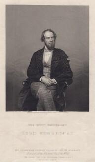 John Wodehouse, 1st Earl of Kimberley, by Daniel John Pound, after a photograph by  John Watkins - NPG D3491
