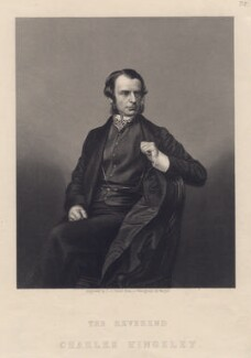Charles Kingsley, by Daniel John Pound, after a photograph by  John Jabez Edwin Mayall - NPG D3492