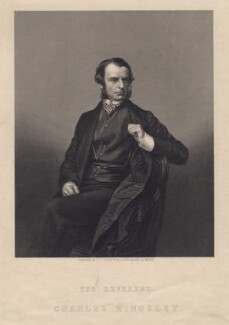 Charles Kingsley, by Daniel John Pound, after a photograph by  John Jabez Edwin Mayall - NPG D3493