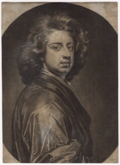 Sir Godfrey Kneller, Bt, by Isaac Beckett, after  Sir Godfrey Kneller, Bt - NPG D3498
