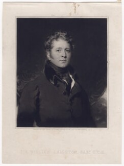 Sir William Knighton, 1st Bt, by Samuel Cousins, after  Sir Thomas Lawrence - NPG D3501
