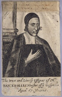 Hanserd Knollys, after Unknown artist - NPG D3503