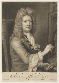 John Lambert, by John Smith, after  John Lambert, 1697 - NPG D3523 - © National Portrait Gallery, London