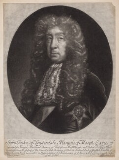John Maitland, Duke of Lauderdale, by and published by Isaac Beckett, after  John Riley - NPG D3543