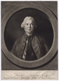 Stringer Lawrence, by Richard Houston, after  Sir Joshua Reynolds - NPG D3546