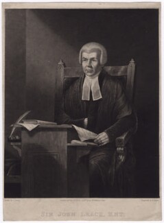 Sir John Leach, by Henry Edward Dawe, published by  Zachariah Sweet, after  Charles Penny - NPG D3549