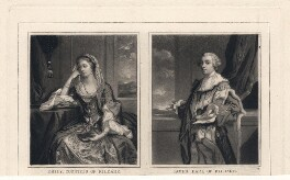 James Fitzgerald, 1st Duke of Leinster; Emilia Mary ('Emily') Fitzgerald (née Lennox), Duchess of Leinster, after Sir Joshua Reynolds - NPG D3566
