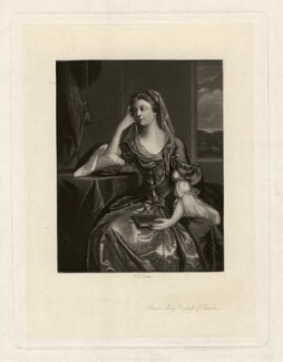 Emilia Mary ('Emily') Fitzgerald (née Lennox), Duchess of Leinster, by Robert Bowyer Parkes, after  Sir Joshua Reynolds - NPG D3567