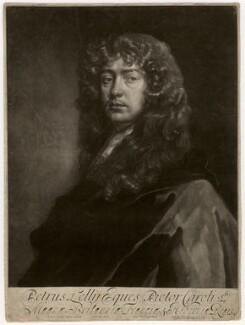 Sir Peter Lely, by Isaac Beckett, published by  Alexander Browne, after  Sir Peter Lely, circa 1684 - NPG D3569 - © National Portrait Gallery, London