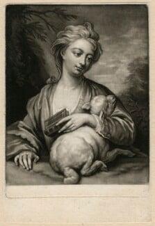 Catherine (née Kneller) Huckle, after Sir Godfrey Kneller, Bt - NPG D3580