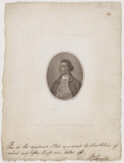 Ignatius Sancho, by Francesco Bartolozzi, published by  John Bowyer Nichols, after  Thomas Gainsborough - NPG D3581