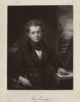 Henry Liverseege, by Henry Cousins, after  William Bradley - NPG D3583